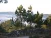 Camino Frances Галисия туман