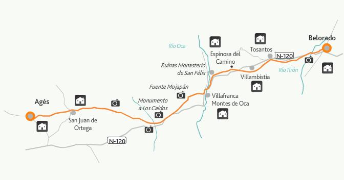 этап 11 (Belorado  - Agés)