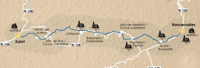 этап 2 (Roncesvalles  - Zubiri)
