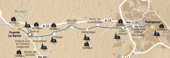 этап 4 (Pamplona  - Puente la Reina)