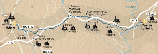 этап 5 (Puente la Reina  - Estella)