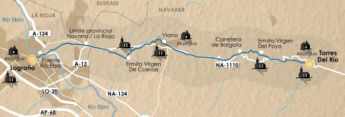 этап 7 (Torres del Río  - Logroño)
