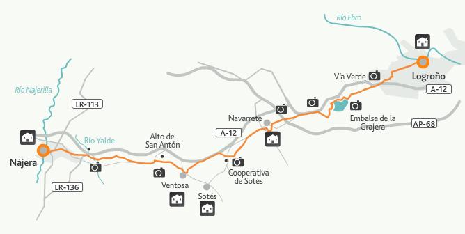 этап 8 (Logroño  - Najera)