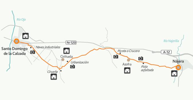 этап 9 (Nájera  - Santo Domingo de la Calzada)